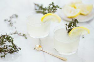 drink glass glassware lemon