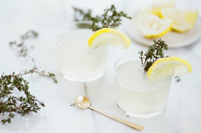 drink glass glassware lemon