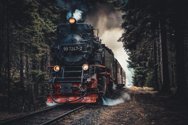 train in railway